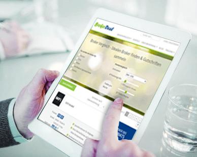 iPad Broker Vergleich von BrokerDeal