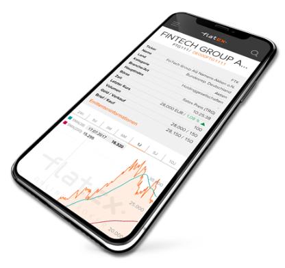 Börsen und Assets im Depot Test von Flatex