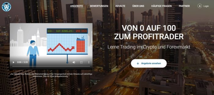 Lionstrading Website