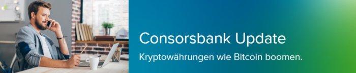 Kryto-Produkte bei der Consorsbank
