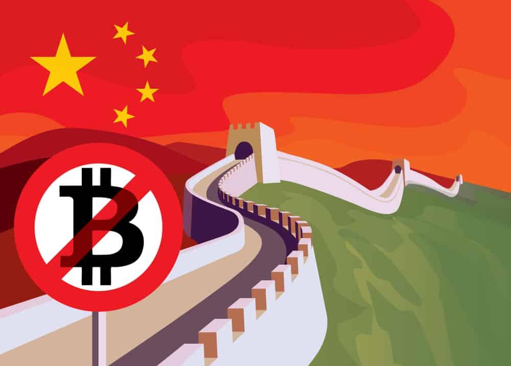 China Kryptowährungen verbot