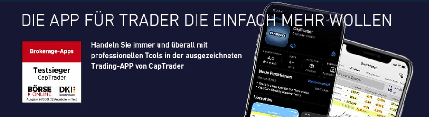 Bruchteile von Aktien bei CapTrader handeln