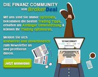 Newsletter Anmeldung Brokerdeal.de